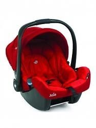 Joie Muze infant car seat Poppy red- sparingly used for £30
