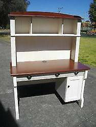 NEW*NEPEAN ANTIQUE STYLE COMPUTER DESK*HUTCH*BOOKSHELF*OFFICE