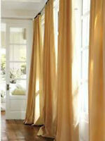 URBARN BARN CHENILLE CURTAIN PANEL