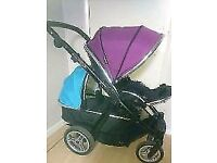 Oyster Max 2 Double Pram