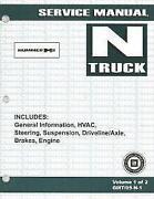 Hummer H2 Repair Manual