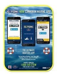 C-TOW Marine Assistance Boating App