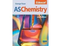 PERFECT CONDITION GEROGE FASER AS (A-LEVEL) Chemistry book 2nd (LATEST) Edition