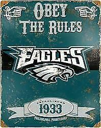 Philadelphia Eagles Embossed Metal Sign (New) Calgary Alberta Preview