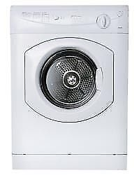 "Westland White 24"" Splendide Dryer New Model TVM63XNA Stackable"