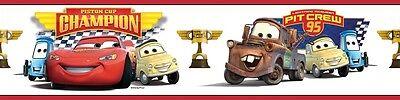 Lightning Mcqueen Wall Border - Disney Cars Piston Cup Champions Wall Border LIGHTNING MCQUEEN Wallpaper Decor