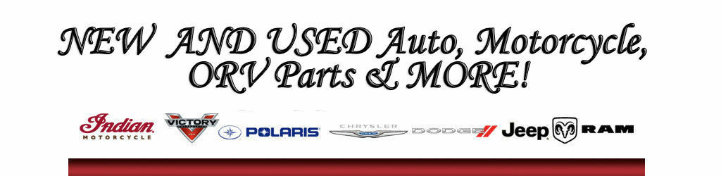 Auto Parts & Accessories for Resale