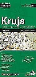 Kruja Provinzkarte 1 : 65 000 GPS (2013)