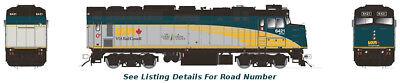 HO Rapido F40PH-2D Rebuilt Via Rail Renaissance #6434 DCC/Sound, used for sale  Kingston