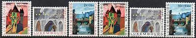 LUXEMBOURG MNH 1964 SG750-755 NATIONAL WELFARE FUND