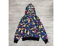Bape hoodie bubblegum WGM