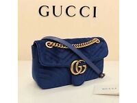 Gucci shoulder bag velvet