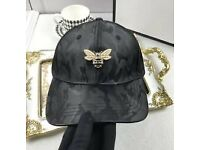 Gucci cap bee black