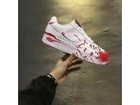 Nike Air Force 1 Crime Scene