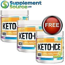 .  Beyond Yourself KETO-ICE, 80 Servings x 3