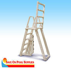 Confer-Evoution-A-Frame-Ladder-For-Above-Ground-Swimming-Pool-48-54-7100B