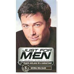JUST FOR MEN SHAMPOO HAIR COLOUR DYE