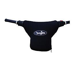Seadoo Xp Sp Spx Jetski Aftermarket Neoprene Zip On Handle Bar Cover Black