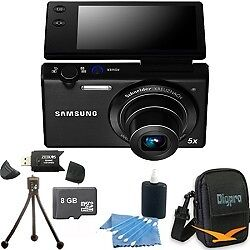 Samsung-MV800-16-1-MP-3-0-MultiView-Black-Compact-Digital-Camera-8GB-Kit