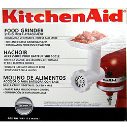 Kitchenaid-FGA-Food-Nut-Meat-Grinder-Stand-Mixer-Attachment-new-in-box