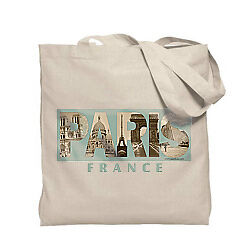 Paris Photo Canvas Tote Bag from Online Gift Store