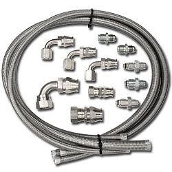 Power-steering-steel-braided-Billet-Specialties-Hose-Kit-type-2-II-gm-remote-res