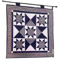 LONGABERGER~BLUE RIBBON QUILT~WALL HANGING QUILTING KIT