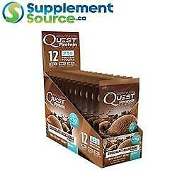 .              CLEARANCE - Quest PROTEIN PACKETS x 12 - Cinnamon Crunch