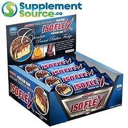 Allmax ISOFLEX BARS, 85g x 12 - Chocolate Almond