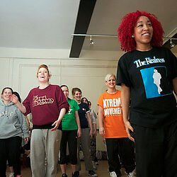 Adult Dance classes in Locking & Popping