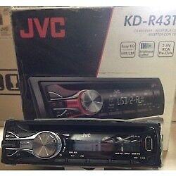 JVC KD-G342 CD / MP3 Player Front Aux input