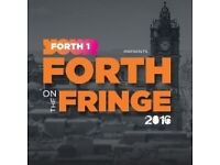 4 Tickets for Forth on the Fringe 06/08/16 (13:30)