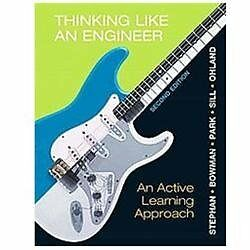 NEW Thinking Like An Engineer - Stephan, Elizabeth A./ Bowman, David R./ Park, W