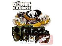 Emson Donut Express 3 nonstick pans/trays decoration kit Vintage BNIB