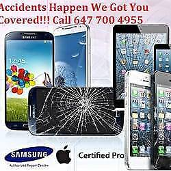 MISSISSAUGA FIX PHONE SAMSUNG GALAXY, APPLE iPHONE,iPAD,SONY, LG, NEXUS, HTC, MOTO, BLACKBERRY CRACKED SCREENS AND MORE