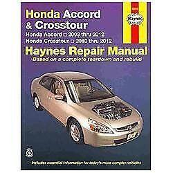 2003 2012 honda accord crosstour repair manual 06 2007. Black Bedroom Furniture Sets. Home Design Ideas