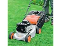 Flymo petrol Lawnmower self propelled mower