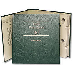 LITTLETON Euro Type Coins Archival  Quality Album
