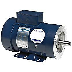 2 hp 1 ph 120 volt 3600 rpm electric motor marathon for 120 rpm dc motor