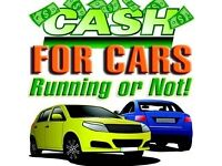 CASH FOR CARS RUNNING OR NOT WE ALSO BUY SCRAP CARS AT TOP PRICES