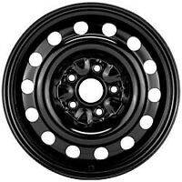 5x100 Steel Winter rims with hubcaps