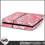 Floral Roze Playstation 4 Console Skin