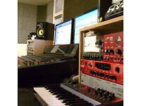 Band rehearsal rooms and recording studio - salford, manchester