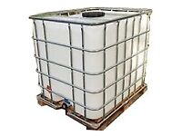 AS NEW MINT IBC WATER TANKS for sale  Sandbach, Cheshire