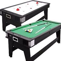 Combo pool/air hockey table (flip over) make me an offer