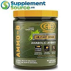 Advanced Genetics AMMO-8 (#1 Selling EAA Formula), 50 Servings
