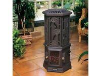 Cast Iron Coal effect Electric Heater
