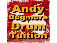Andy Dugmore Drum Tuition is professional drum teacher with 12 years experience Buy 4 get 5th FREE!