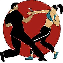 Self defence teaching