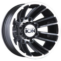 almost new dually wheel set